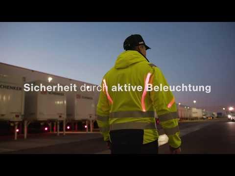 Selbstleuchtende Warnschutzkleidung mit OSRAM® LEDs (Deutsch)