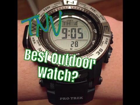 The Best Outdoor Watch - Casio Pro-Trek PRW 3500