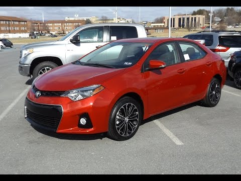 2015 toyota corolla s plus 1 8l start up tour and review. Black Bedroom Furniture Sets. Home Design Ideas