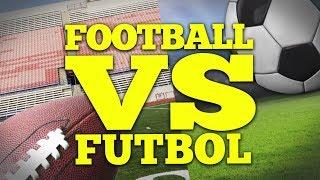 FOOTBALL vs. FUTBOL | Bad British Commentary