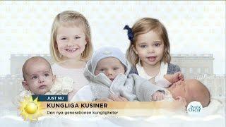 Prins Oscar Blir Trea I Successionsordningen - Nyhetsmorgon (TV4)