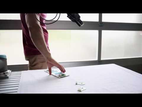 Using the Robotiq wrist camera to identify a tray — DoF
