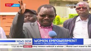 West Pokot county government distributes 14,000 poultry to women in a bid to promote poultry farming