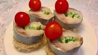 Чтобы гости хорошенько удивились приготовьте вот такую закуску всего из трех ингредиентов!
