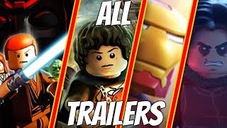 All LEGO Videogames Trailers (2005 - 2019)