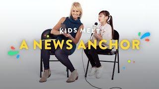 Kids Meet a News Anchor | Kids Meet | HiHo Kids