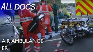 Air Ambulance ER: Mother & Daughter Motorbike Accident | Hospital Documentary | Documental