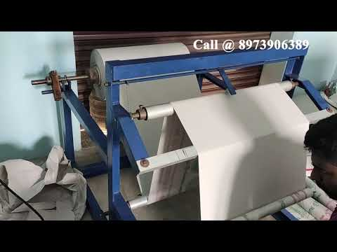 Roll Slitting Rewinding Machine