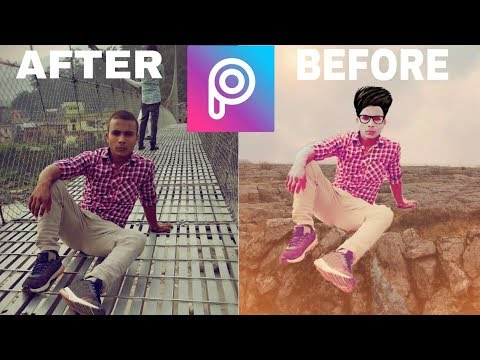 Best attitude PicsArt editing for boys only - игровое видео