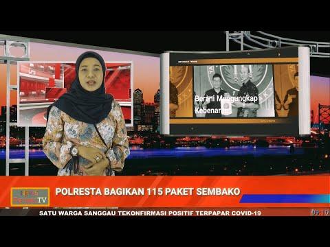Jelang Idul Fitri, Polresta Pontianak Salurkan 115 Paket Sembako ke Masyarakat Pra Sejahtera Terdampak Covid-19