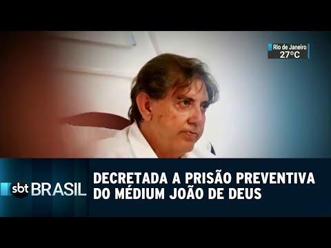 Decretada a prisão preventiva do médium João de Deus em Goiás