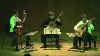 """Persian Dances"" for Guitar trio - Sahba Aminikia"