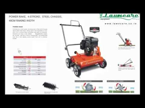 Lawn Scarifier, Verticutter, Rake Machine