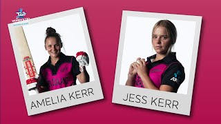 Perfect Pairs: Amelia and Jess Kerr | Women's T20 World Cup