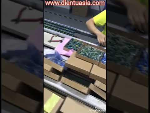 Xưởng sản xuất đèn led của Cty điện tử ASIA : WWW.DIENTUASIA.COM