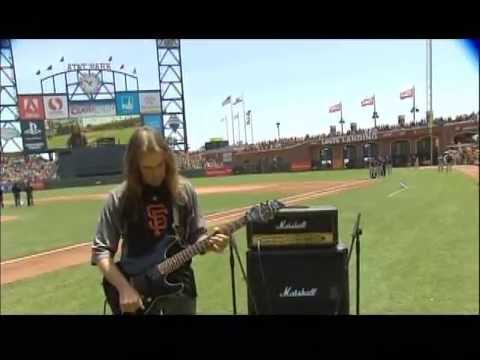 USA National Anthem - AT&T Park