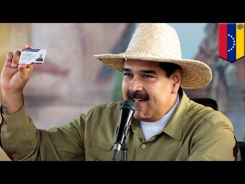 Kartu ID Venezuela baru dibuat dengan bantuan Cina - TomoNews