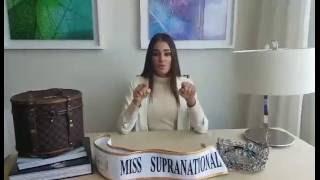 Miss Supranational 2015 Stephania Stegman announces the Miss Supranational 2016 Host City and the Final Date