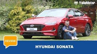 Hyundai Sonata 2020 Review   YallaMotor