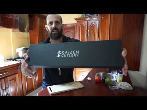 Kaizen Cutlery Chef Knife Review