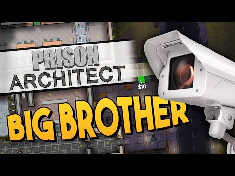 Prison Architect - BIG BROTHER ★ Education, Classrooms, Legal, Hot Water, Parole, CCTV #6