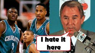 How The Original Charlotte Hornets Lost Their NBA Team
