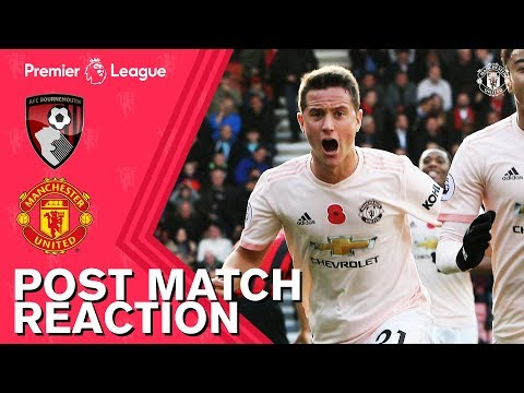Rashford and Herrera Delighted with Late Winner | Bournemouth 1-2 Manchester United