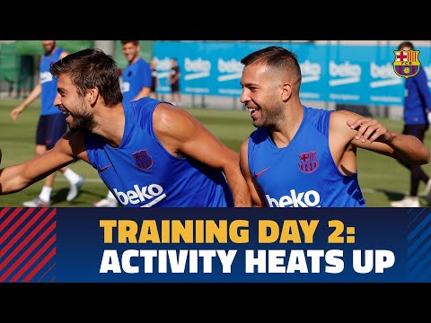 Work continues in second day of training