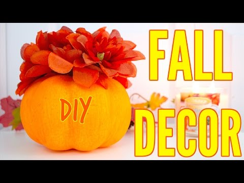 DIY Fall Room Decor 2016 Tumblr Inspired