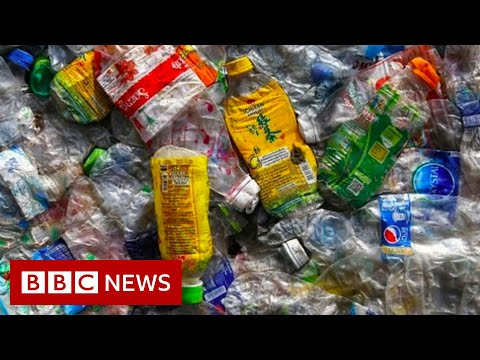Could a year's waste circle the Earth four times? - BBC News