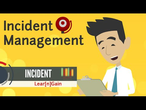 INCIDENT MANAGEMENT - Learn and Gain - YouTube