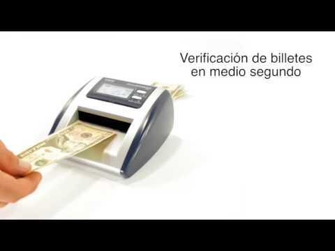 AccuBanker-Detector de billetes falsos D500