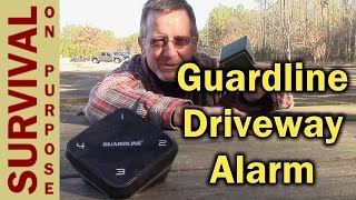 Guardline Driveway Alarm and Motion Detector - Portable Security System