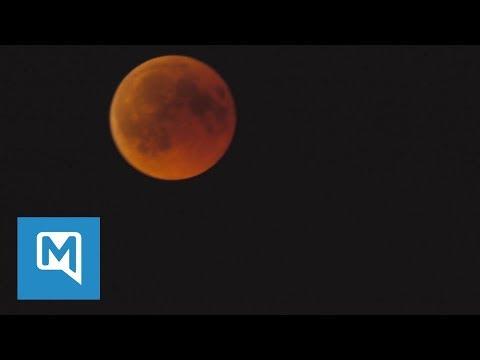 Mondfinsternis 2018: So sah der Blutmond über Bayern aus
