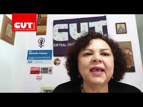 Juneia Batista, secretária da Mulher Trabalhadora da CUT fala sobre o veto a distribuição de absorventes