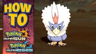 Braviary  - (Pokémon) - HOW TO GET Rufflet in Pokemon Ultra Sun and Moon