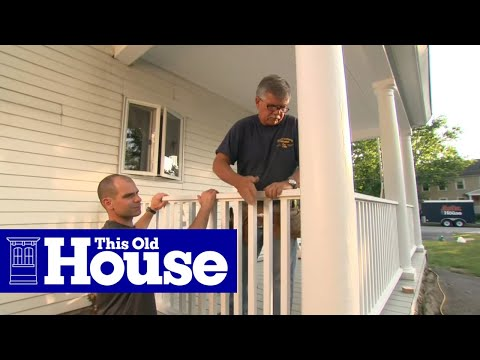 How to Build a Porch Rail