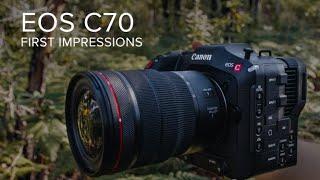 Canon Cinema EOS C70 First Impressions | Kate Cornish