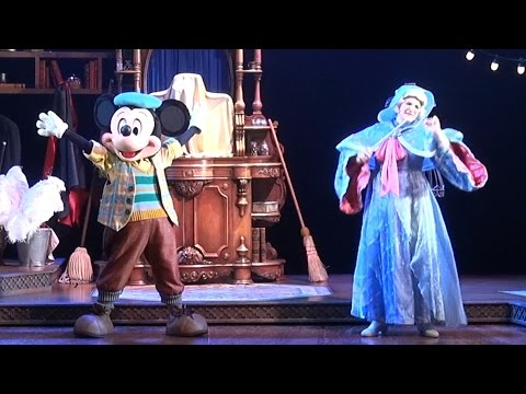 Mickey And The Magician FULL Show at Walt Disney Studios, Disneyland Paris, Mickey et le Magicien