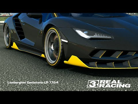 Real Racing 3 Lamborghini Centenario Lp770 4 Gameplay Smotret