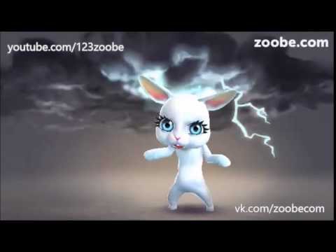 Zoobe Зайка Выхожу из душа с полотенцем на голове