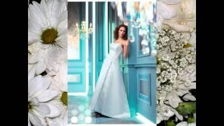 Свадебные платья голубых оттенков