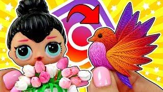 🔥 ПТИЧКА ИНСТАГРАМ и ВЕСЕННИЕ ИДЕИ ПОДАРКОВ и поделок для кукол СВОИМИ РУКАМИ МК Анна Оськина
