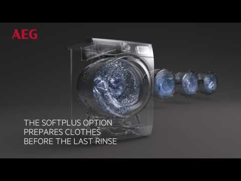 AEG Freestanding Washing Machine L7FBE942CA - White Video 2