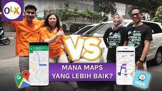 Review Google Maps VS Waze, Mana Yang Terbaik?