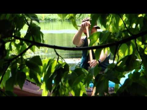 Mit dem Kanu unterwegs auf der Spree