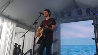 Morgan Evans   Young Again   Nashville, TN •CMAFest Fan Club Party 2019• (Live)