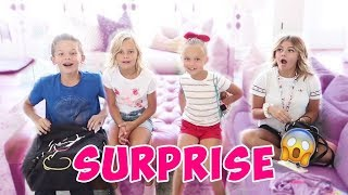 SURPRISE BEFORE SCHOOL STARTS | THE LEROYS