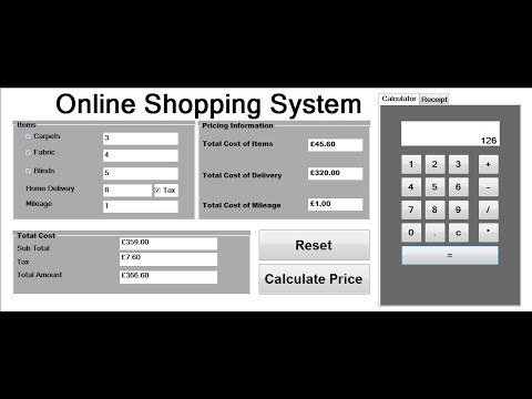 How to Create Billing System Project in Visual Basic.Net