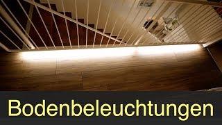 Bodenbeleuchtungen mit LED-Stripes